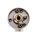 Hochwertige Edelstahl Rosettengarnitur Klasse 4 nach DIN EN 1906 Waggon