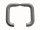 *Objekta 1* ZT-Drückerpaar für Glastürbeschläge o. Rosette- Alu F1, silber