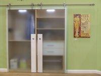 Schiebetürsysstem für Glas- und Holztüren