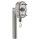 """ES2 zert. hochwertiger Fenstergriff   V2A Edelstahl matt   Modell """"New Orleans V2"""" - Stiftlänge 35 mm"""