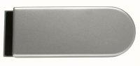 Glastürschloss Studio D Aluminium EV1 silber matt...