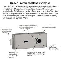 "Glastürschloss Studio ""Q3"" BB (Buntbart)..."