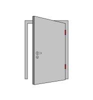 BMH Einsteckschloss   Klasse 3   Für Objekte (WC/Bad)   65/78/8   Edelstahlstulp   *Made in Germany*