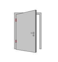 BMH Einsteckschloss | Klasse 3 | Für WC-Garnituren | Edelstahlstulp und Flüsterfalle | *Made in Germany*