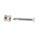 Stoßgriff auf Gehrung | V2A Edelstahl matt | Lochabstand: 350 mm | Haustürgriff