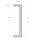 Griffpaar für Schiebetüren auf Gehrung | V2A Edelstahl matt | Lochabstand: 350 mm | Für Holz- und Glastüren