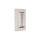 Griffmuschel zum Aufkleben   Edelstahloptik   eckig   70 x 70 x 10 mm   1 Paar