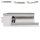 Glastürbeschlag Q3 UV   ohne Bänder   V2a Edelstahl poliert   auch objektgeeignet