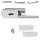 Glastürbeschlag Q3 PZ | inkl. Studiobändern | V2a Edelstahl poliert | auch objektgeeignet