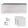 Glastürbeschlag Q3 GG | inkl. Officebändern + RT | V2a Edelstahl poliert | auch objektgeeignet