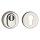 Schutzrosette   ES1 (WK2) + Feuerschutz zertifiziert   Edelstahl poliert (Chrom)   Kernziehschutz