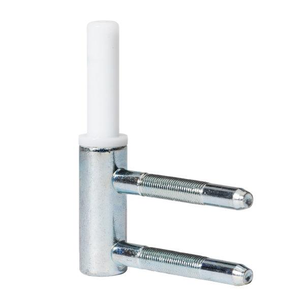 1 Rahmenteil für Holzzarge - für 2-tlg. Bänder - Glastüren
