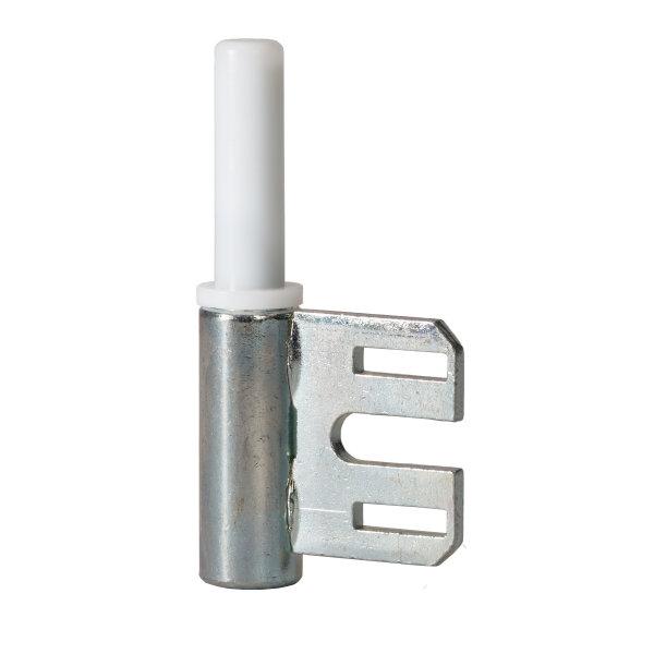 1 Rahmenteil für Stahlzarge - für 2-tlg. Bänder - Glastüren