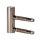 1 Rahmenteil für Holzzarge CF V4400WF für 3-tlg. Bänder/49 mm für Glastüren