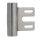 1 Rahmenteil für Stahlzarge CF V8000WF für 3-tlg. Bänder/49 mm für Glastüren