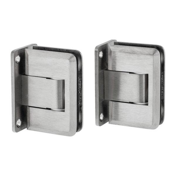 Hochwertiges Pendeltürbandpaar für Glastüren
