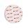 Griffmuschel zum Aufkleben | Edelstahloptik | rund | 70 x 8 mm | 1 Paar