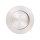 Griffmuschel zum Aufkleben | Edelstahloptik | rund | 70 x 8 mm | 1 Stück