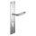 Renovierungsgarnitur Langschild Q   2 mm Schildstärke   V2A Edelstahl matt geb.   250x55x2 mm   Hope