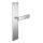 Renovierungsgarnitur Langschild Q | 2 mm Schildstärke | V2A Edelstahl matt geb. | 250x55x2 mm | Square Tall