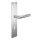 Renovierungsgarnitur Langschild Q | 2 mm Schildstärke | V2A Edelstahl matt geb. | 250x55x2 mm | Core
