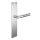 Renovierungsgarnitur Langschild Q   2 mm Schildstärke   V2A Edelstahl matt geb.   250x55x2 mm   Blues